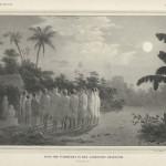 Dans der Tomorezen in het landschap Amarassie.