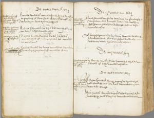 Huwelijksakte Jan Aertszoon van Groenewoud met Marrichgen Cornelis Cornelissoondochter, 2 november 1633