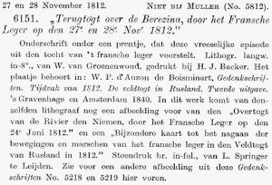 Onderschrift onder een prentje, lithografie van Wilhelmus van Groenewoud.
